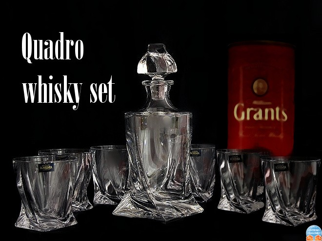 quadro whisky set. Black Bedroom Furniture Sets. Home Design Ideas