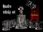 Quadro whisky sets