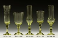 2x Historical Glass - wine glasses 1480/200 ml
