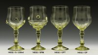2x Historical Glass - wine glasses 14032/TOP/230ml