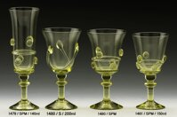 2x Historical Glass - wine glasses 1480/S/200 ml
