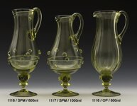 Carafe of historical glass - 1116/OP/800 ml