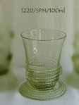 Historical Glass-2x glass liquor 1220/SPM/100 ml