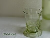 Historical Glass-2x glass liquor 1220/100 ml