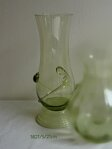 Blown glass vase from the historical glass 1821/S/21 cm
