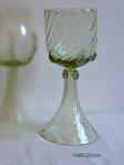 2x Historical Glass - wine glasses 1485/20CM