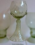 2x Historical Glass - wine glasses 1444/MOP/19CM
