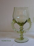 1x Historical Glass - wine glasses  14036/17 cm