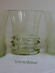 Historical glass 2x -glass of whiskey 1259/K/300 ML