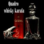 1x Quadro whisky Bottle