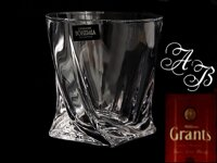 6x Quadro whisky tumbler 340 ml WITH MONOGRAM