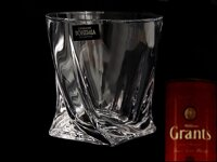 6x Quadro whisky tumbler 340 ml