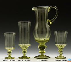 Carafe of historical glass - 1127/800 ml